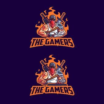 Esport professional gamers logo