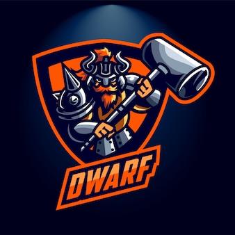 Esports dwarf logo
