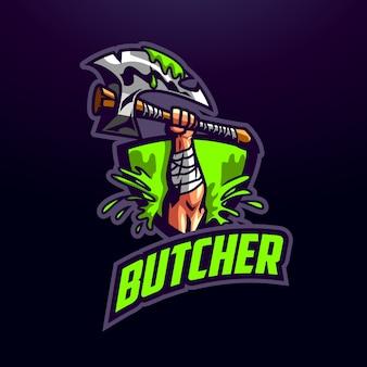 Esports main et axe logo