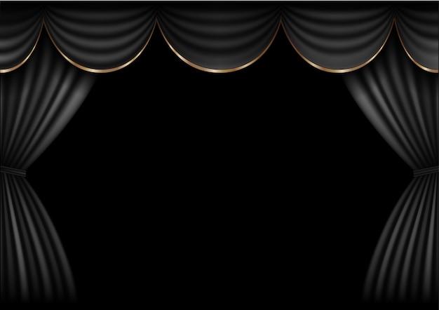 Étape de rideau de fond