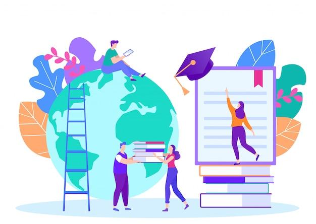 Étapes d'apprentissage à distance. leçon en ligne. e-learning. la formation en ligne.