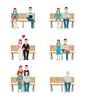 Les étapes du développement des générations familiales se déroulent avec le temps