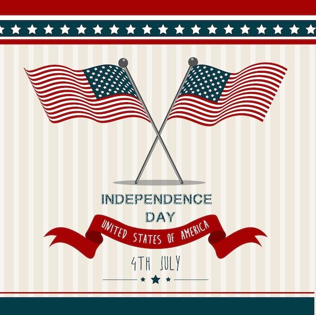 États-unis d'amérique états-unis jour de l'indépendance