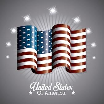 États-unis design.