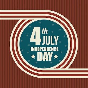 États-unis joyeuse fête de l'indépendance, célébration du 4 juillet