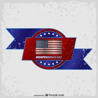 Les etats unis symboles fond