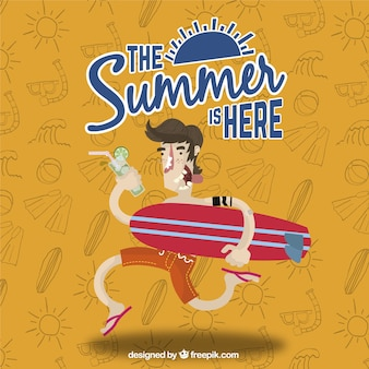 L'été est là fond