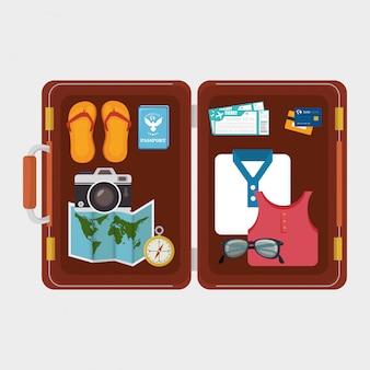 Été, voyage et vacances