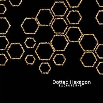 Étincelle hexagone moderne