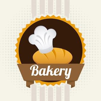 Étiquette de boulangerie