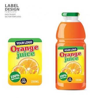Étiquette de la bouteille