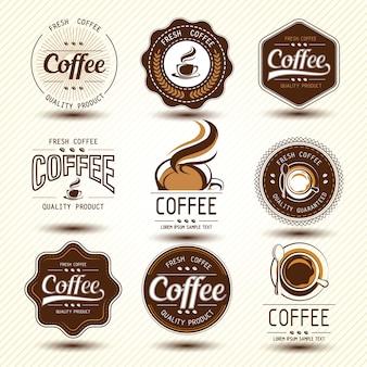Étiquette de café