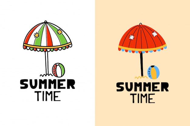 Étiquette d'été