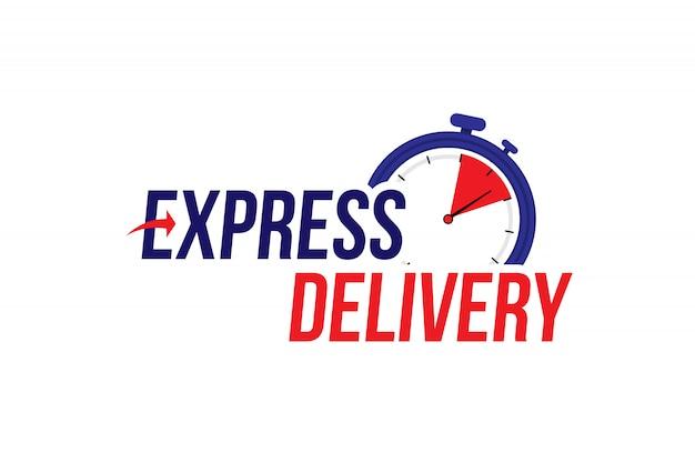 Étiquette de livraison express