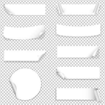 Étiquette en papier