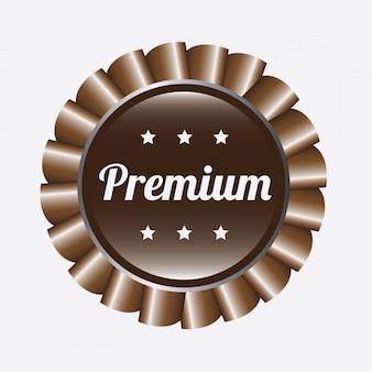 Étiquette premium