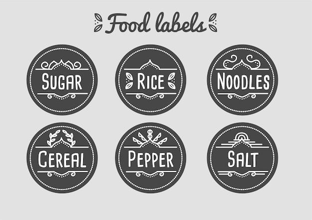 Étiquettes alimentaires