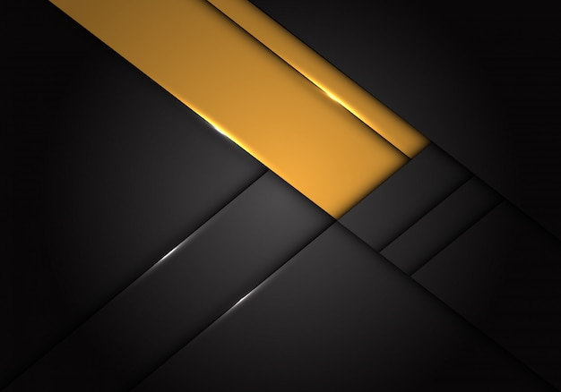 Les étiquettes jaunes se chevauchent sur un fond métallique gris foncé.