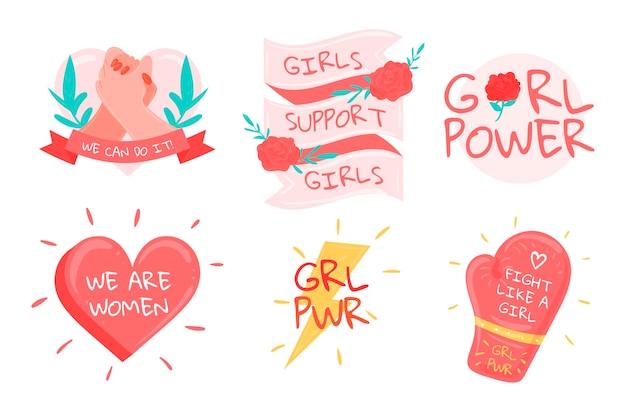 Étiquettes de la journée internationale de la femme