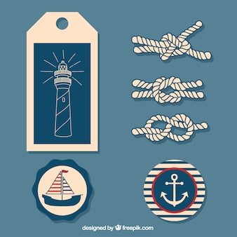 Étiquettes nautiques