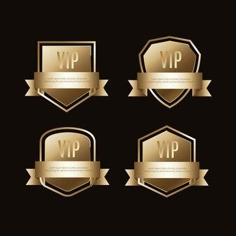Etiquettes et objets vip de luxe