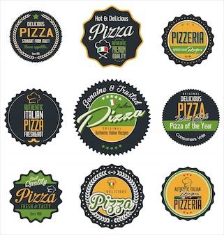Étiquettes de pizza