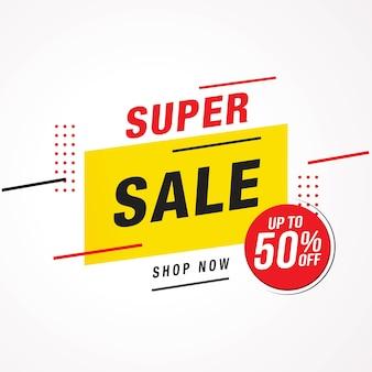 Étiquettes de prix de vente et d'offre spéciale bannière d'étiquette de vente illustration vectorielle