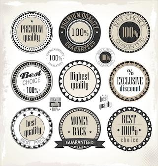Étiquettes de qualité supérieure
