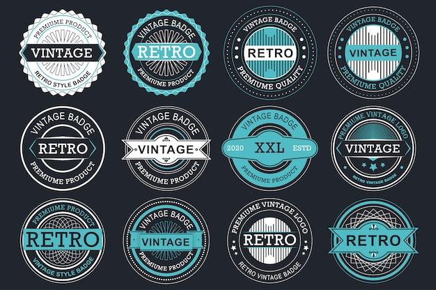 Étiquettes de vente de collection.