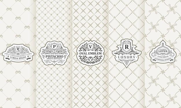 Étiquettes verticales et cartes d'emballage