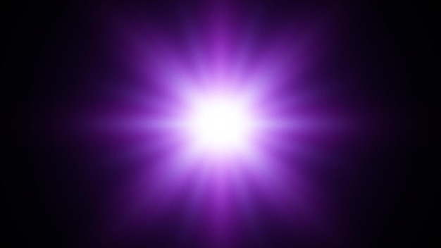 Étoile bleue. fond d'explosion bleu avec des rayons. illustration abstraite de vecteur eps10