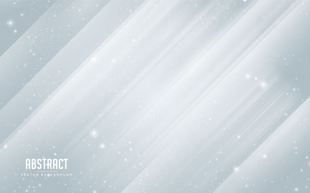 Étoile de fond abstrait et cristal coloré en bleu et blanc. moderne minimal eps 10