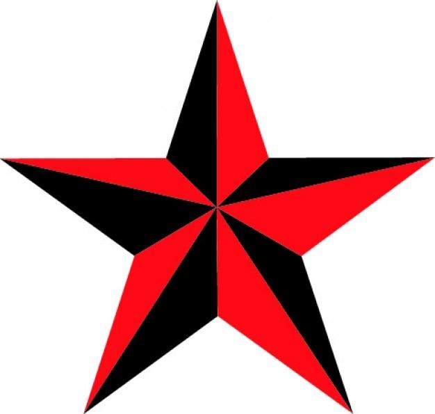 Étoile nautique de cinq points