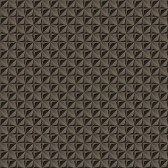 Étoile à quatre branches géométriques abstraites