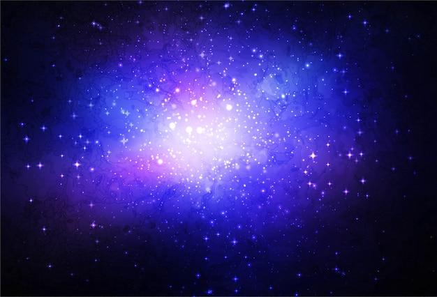 Des étoiles dans l'univers