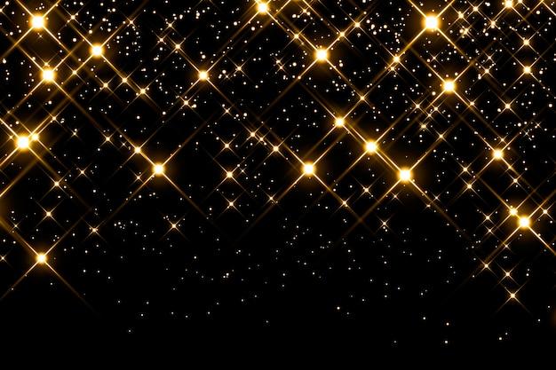 Étoiles filantes étincelantes