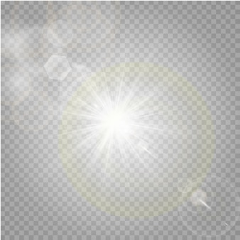 Étoiles sur fond blanc et gris transparent sur un échiquier.