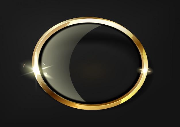 Étoiles d'or avec trace d'inversion sur fond transparent.