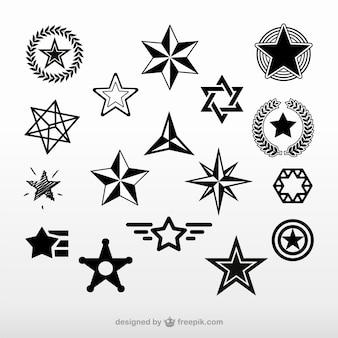 Étoiles vecteur téléchargement gratuit