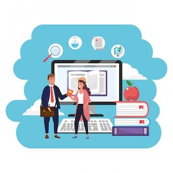 Étudiants du millénaire d'éducation en ligne