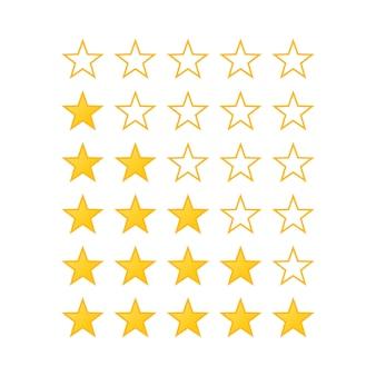 Évaluation des étoiles