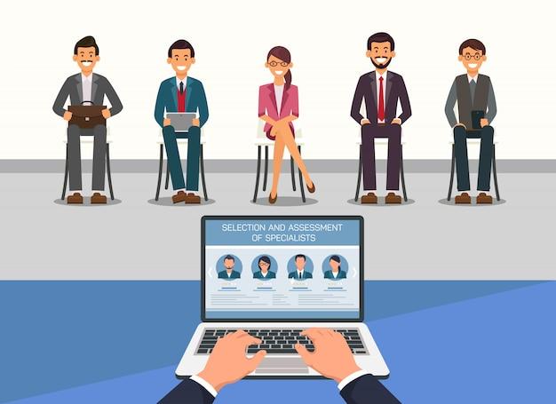 Évaluation de la sélection des directeurs de recrutement spesiaust