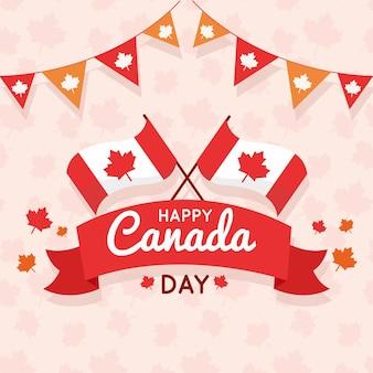 Événement de la fête du design plat du canada