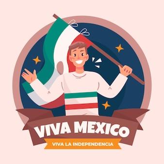 Événement de la fête de l'indépendance du mexique