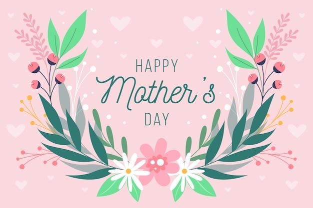 Événement floral de la fête des mères