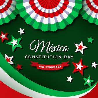 Événement de la journée de la constitution mexicaine