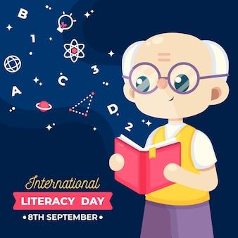 Événement de la journée internationale de l'alphabétisation