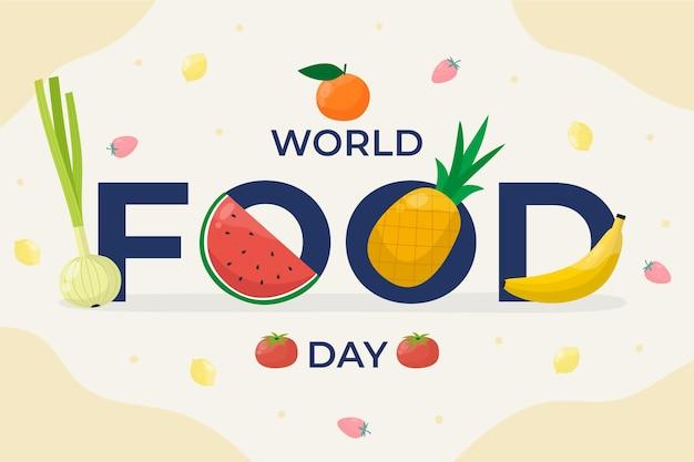 Événement de la journée mondiale de l'alimentation