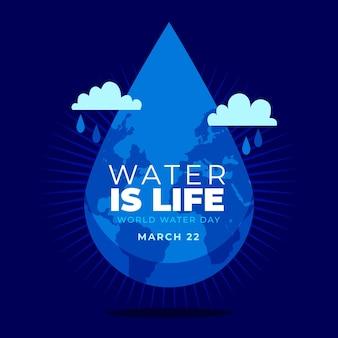 Événement de la journée mondiale de l'eau