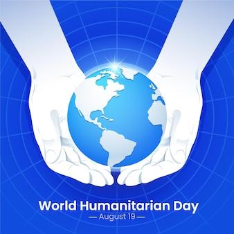 Événement de la journée mondiale de l'humanitaire